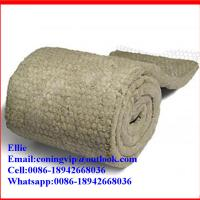 Buy cheap Wire mesh backed Rock wool blanket insulation from wholesalers