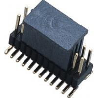 Fireproof 1.27mm * 2.54 Mm Pitch Header / PCB Board Male Pin Headers