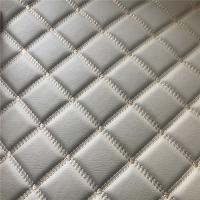 Buy cheap Soft Feeling Polyurethane Leather Fabric / Faux Leather Sheets 140cm - 155cm Width product