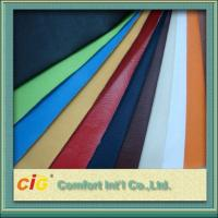 Buy cheap 0.4mm - 0.7mm Polyurethane Synthetic Leather Fabric For Garment product