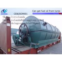 Buy cheap Hot Sell Anvanced Recycling Fuel Oil from Waste Tyre and Plastic Machine from wholesalers