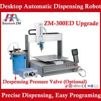 Buy cheap Automatic UV glue dispensing machine ZM-300ED with pressure barrel from wholesalers