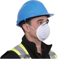 Buy cheap Industrial Protective Disposable Face Mask Staple / Welded Strap With Elastic Earloop from wholesalers