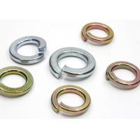 Buy cheap DIN 127 Standard Stainless Steel Washers Split Lock Washer M8 Anti Corrosion from wholesalers