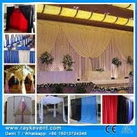 Buy cheap RK High quality curtains drapery styles transparent wedding tent party decorations events from wholesalers