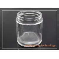 Buy cheap 3.5 oz Straight Sided Clear Glass Bottles Glass Cookie Jars D60mm×H68mm from wholesalers