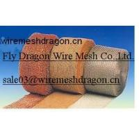 Buy cheap Knitted mesh,  knitted wire mesh,  filter mesh,  filter wire mesh,  kintted filter wire mesh,  wire mesh belt from wholesalers