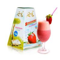 Home Healthy Strawberry Milkshake Powder Weight Loss For Slimming / Detoxing