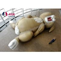 Buy cheap Heavy Giant Inflatable Rabbit , Cartoon Inflatable Party Decorations Animals from wholesalers