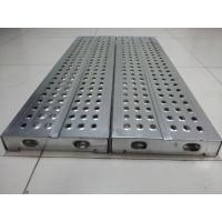 Buy cheap Galvanized Steel Scaffolding Planks from wholesalers