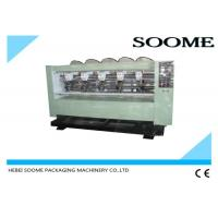 Buy cheap Electric Left - Right Moving Slitter Scorer Corrugated Paper Cutting Machine from wholesalers