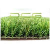 Soft Natural Looking Beautiful Artificial Grass , Fake Grass For Backyard
