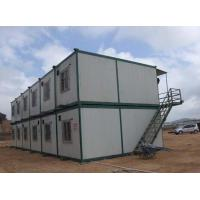 Buy cheap Low Cost Prefabricated Sandwich Panel Steel Container House from wholesalers
