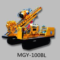 Buy cheap MGY-100BL slope stabilization Hydraulic anchor drilling rig from wholesalers