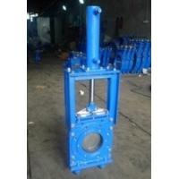 Buy cheap 16 Bar Closed Working Pressure Knife Cast Steel Gate Valve By Heavy Duty from wholesalers