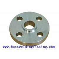 Buy cheap UNS S32750 SUPER DUPLEX STEEL SLIP ON FLANGE for shipbuilding from wholesalers
