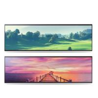 Buy cheap Horizontal Stretched Bar Lcd Display 32 38 Inch 2/3 Cut Special Size product