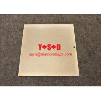 Buy cheap Electroplated diamond Lapping Plate for glass 8