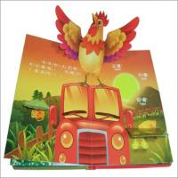 Buy cheap Coloring 3D Pop Up Childrens Book Printing Service for kids of paper board from wholesalers