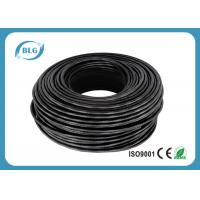 Buy cheap Outdoor Ethernet LAN Cable Cat5e Networking UV Resistant Jacket 0.50mm BC Conductor from wholesalers