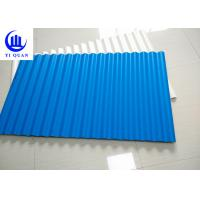 Buy cheap Color Lasting Kerala PVC Roof Tiles Trapeziodal Or Wave Anti Aging Layer from wholesalers