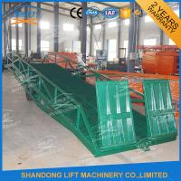 Buy cheap Adjustable Warehouse Container Loading Ramps , Electric Container Yard Ramp from wholesalers