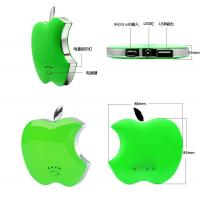 Buy cheap Apple Shaped Universal Portable Power Battery With 3000mAh  For smartphone/iphone/mp3 from wholesalers