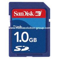 Buy cheap Security Digital Card W/T San Disc Brand from wholesalers