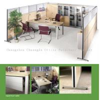 Buy cheap 60mm C8 glass Soundproof office partition walls from wholesalers
