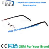 Buy cheap Latest Top grade Famous Brand Pure Alloy optical frame rimless Unisex from wholesalers