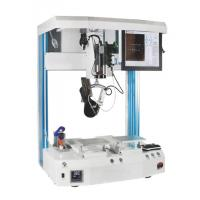 Buy cheap 5 axis two working station support loading 10kg soldering machine from wholesalers