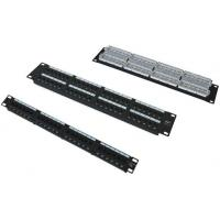 Buy cheap 24 ports Cat5e patch panel , Patch Panel Cat 5E 24 puertos from wholesalers