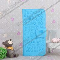 Buy cheap Cartoon Magnetic PU Leather Wallet Case Cover For iPhone 5 from wholesalers