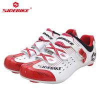 Buy cheap Anti Skid Lycra Material Road Bike Shoes , Breathable Non Slip Sport Sneakers from wholesalers