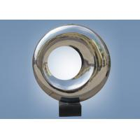 Buy cheap Outdoor Indoor Mirror Stainless Steel Sculpture Doughnut Shape WS-ST048 product
