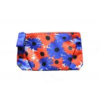 Buy cheap Printed Flower Cheap Promotional Toiletry Bag Hand Carry For Women / Kids from wholesalers