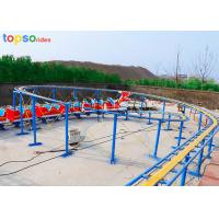 Buy cheap Dragon Little Kid Roller Coaster 20 Person Kids Mini Roller Coaster 120m Track from wholesalers
