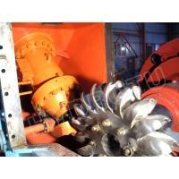 Impulse turbine Pelton Hydro Turbine / Pelton Water Turbine with Stainless Steel Runner for High Head Hydropower Project