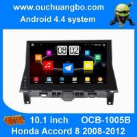 Buy cheap Ouchuangbo android 4.4 Honda Accord 8 2008-2012 1024 * 600 resolution camera input BT 3G Wifi from wholesalers