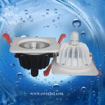 Buy cheap LED 9W cob downlight waterproof recessed IP65 bathroom lighting downlight from wholesalers