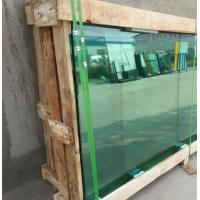 Buy cheap 3+0.38PVB+3,insulating glass, color green, double glazing unit, laminated glass, double pane, glazing, 5 + 5A + 5 mm, from wholesalers