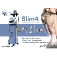 China Multi - Function Vacuum Slimming Machine 5 In 1 System Germany Pump LED Screen Vacuum Roller System on sale
