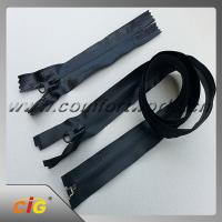 Buy cheap Brass , Aluminum , Plastic , Derlin , Nylon , Invisible Zipper , Slider , Long Chain Zipper from wholesalers