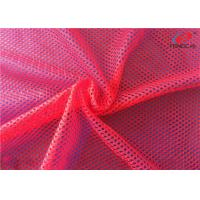 Buy cheap Customized Knit Big Hole Sports Mesh Polyester Fabric For Women Clothing from wholesalers