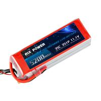 RIX POWER 5200MAH 35C 3S, RC Airplane Lipo Battery, RC Helicopter Lipo Battery