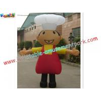Buy cheap Outdoor Moving Cartoon Advertising Inflatables for business 2.2 Meter high from wholesalers