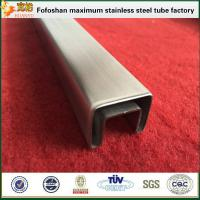 Buy cheap 304 Special Square Stainless Steel Slotted Tube Supplier product