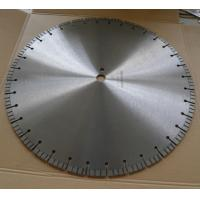 Buy cheap 500mm 20 / 24 Diamond Concrete Saw Blades with Good Efficiency from wholesalers
