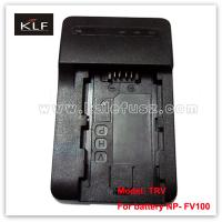 Buy cheap Camcorder Charger TRV for Sony camera battery NP-FV100 from wholesalers