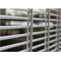 Buy cheap welded security 358 fence,anti-climb fence PVC or Glavanized 358  security fence panel from wholesalers
